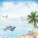 ScrapBoys Summer Breeze paper sheet DZ