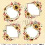 ScrapBoys Sunny Village paper sheet DZ