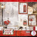 Snow and the City Limited Edition Double-Sided Paper Pad 30.5x30.5 12/Pkg