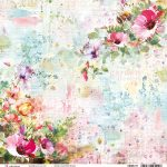 Wildflowers Double-Sided Paper Sheet 30.5*30.5cm