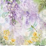 Wisteria Double-Sided Paper Sheet 30.5*30.5cm